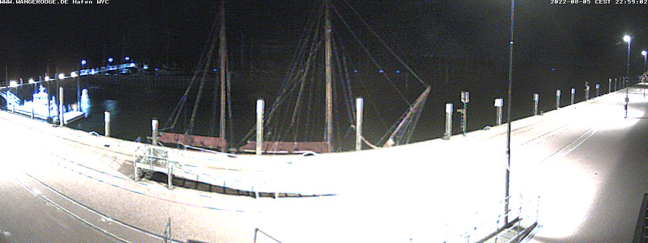Webcam Hafen / Anleger Wangerooge